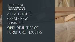 Cukurova Furnıture Related Industry Fair