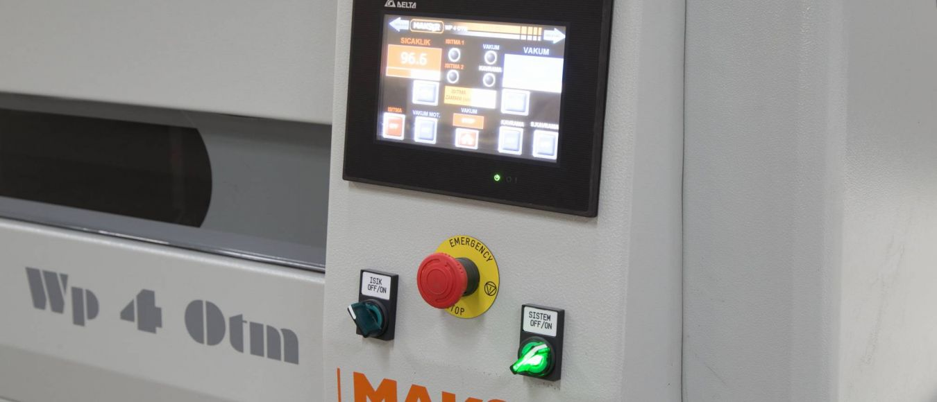 Vacuum Press Control Panel